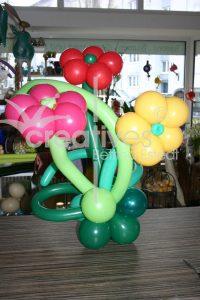 Ballonblume, Ballons, Luftballons, Blume