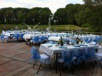 Therrasse, Rhein, Dekoration, Feier